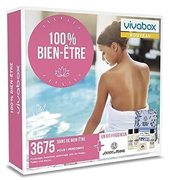 Vivabox Coffret Cadeau Femme 100 Bien être 3675 Soins