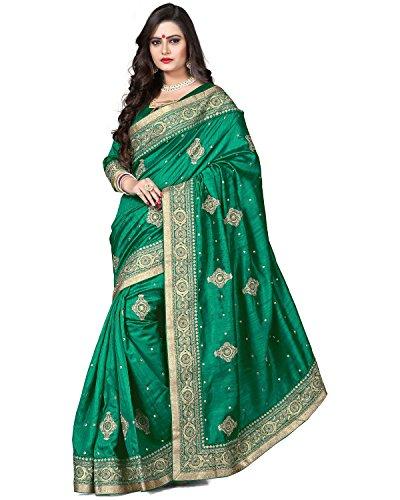 Gorgeous Green Saree - 7