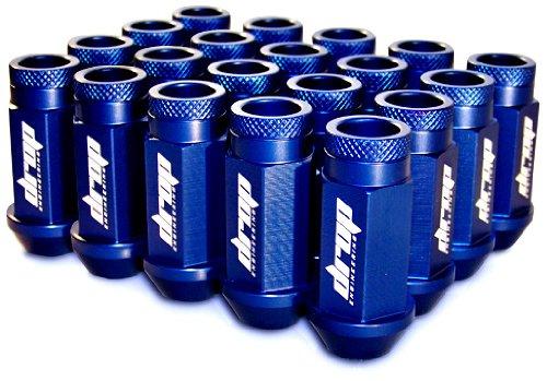 (Drop Engineering ALG-BL-152 Blue Aluminum Lug Nut (M12 x 1.5 Thread Size) - Set of 20)