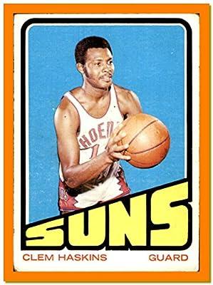 1972-73 Topps VINTAGE NBA Basketball Card #72 Clem Haskins PHOENIX SUNS WESTERN KENTUCKY (vg)