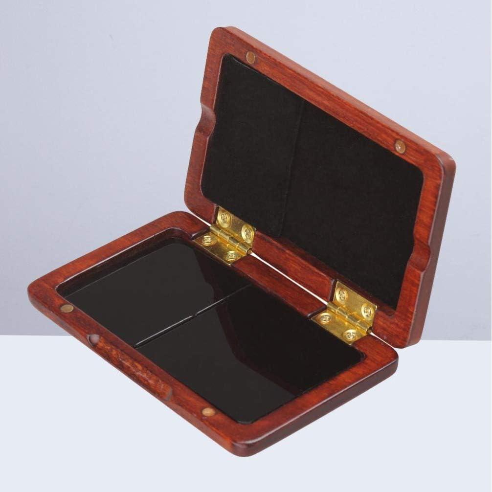 SUPVOX Caja de Caña Caja de Madera Caja Protectora para Clarinete Tenor Saxofón Caña (Rojo Oscuro): Amazon.es: Instrumentos musicales