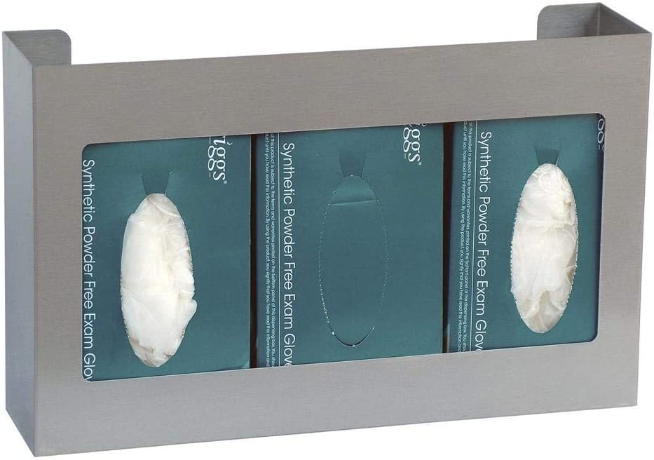 Omnimed Glove Dispensor Glove Box Office Storage Container (305303-SS2)
