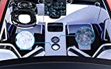 "2.56"" Ceramic Car Coaster, Highly Absorbent, Classy"