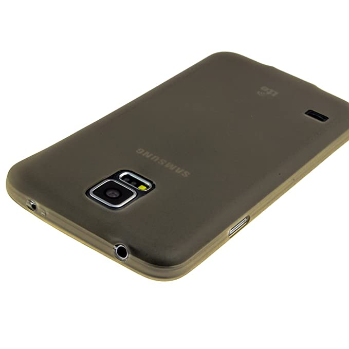 Samsung Galaxy S5 color carcasa trasera de plástico gris ...