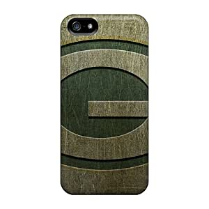 Tpu Fashionable Design Green Bay Packers Rugged Case Cover For Iphone 5/5s New