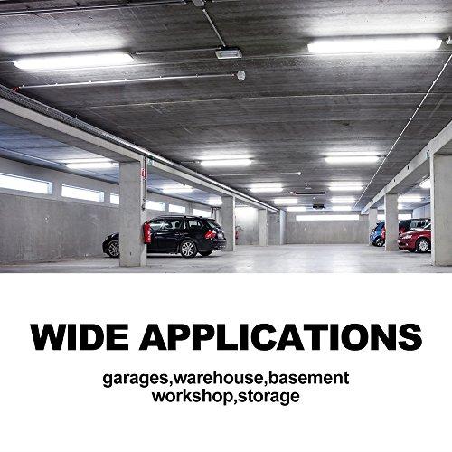 Led Shop Lights 10 Pack: 42W Linkable LED Shop Light For Garage BBOUNDER 48 Inch
