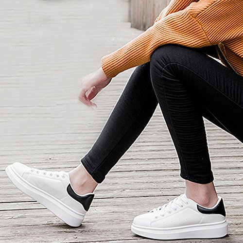 Spritech Unisex Fashion Leather Sneaker