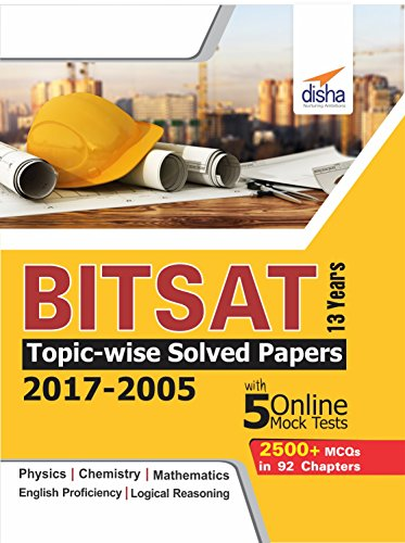 Amazon. Com: bitsat 13 years topic-wise solved papers (2017-2005.