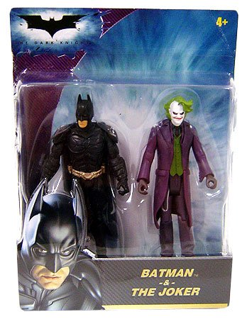 Batman The Dark Knight Mini Figure 2-Pack Batman & The Joker