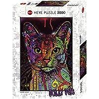 Heye Rompecabezas 2000 Piezas: Jolly Pets: Gato Puzzle