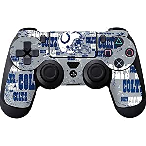 NFL Indianapolis Colts PS4 DualShock4 Controller Skin - Indianapolis Colts - Blast Vinyl Decal Skin For Your PS4 DualShock4 Controller