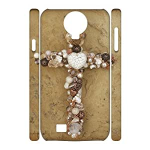 C-EUR Cell phone case Jesus Christ Cross Hard 3D Case For Samsung Galaxy S4 i9500