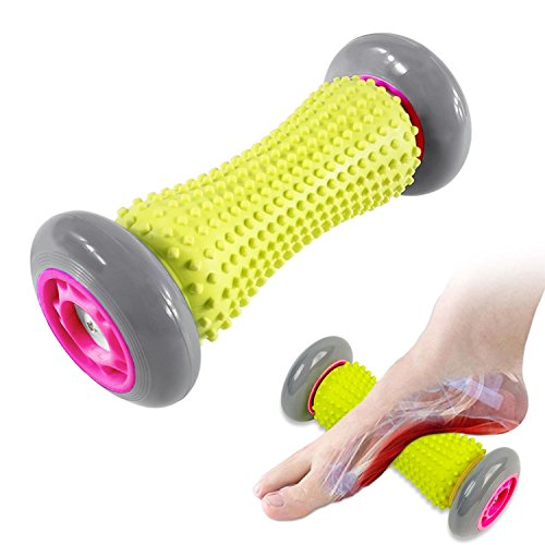 Pieds Rouleau de massage–Muscle Roller Stick–poignets et les avant-bras Rouleau d'exercice pour fasciite plantaire