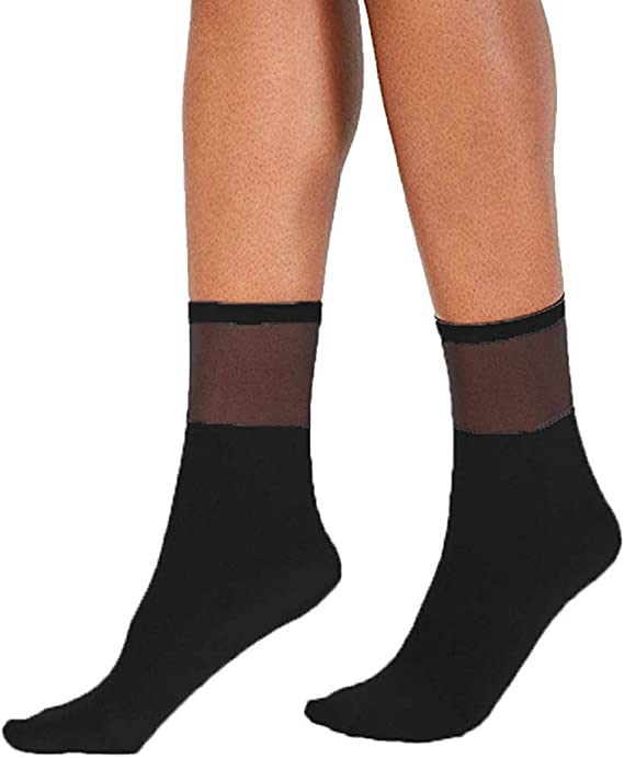 INC International Concepts Sheer Dot Anklet Socks 2 NWT