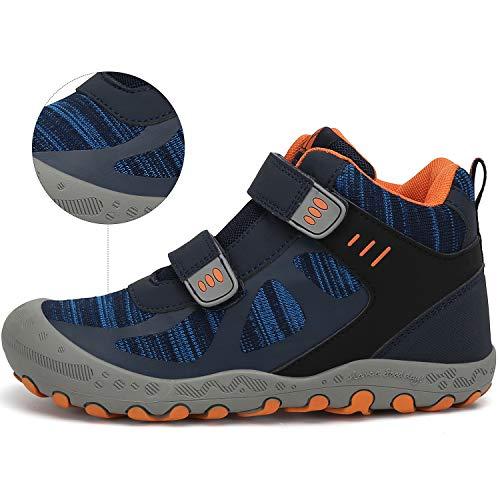Mishansha Chaussures de Randonnée pour Enfants Garçon Bottes de Fille Marche de Trekking Sport de Plein Air 2