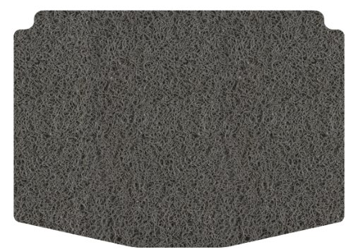 Intro-Tech Spaghetti Cargo Area Custom Floor Mat for Select Volkswagen Passat Models - PVC (Gray)