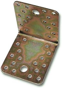 hohe Korrosionsbeständigkeit 10X Flachverbinder 15x60x1,8mm verzinkt