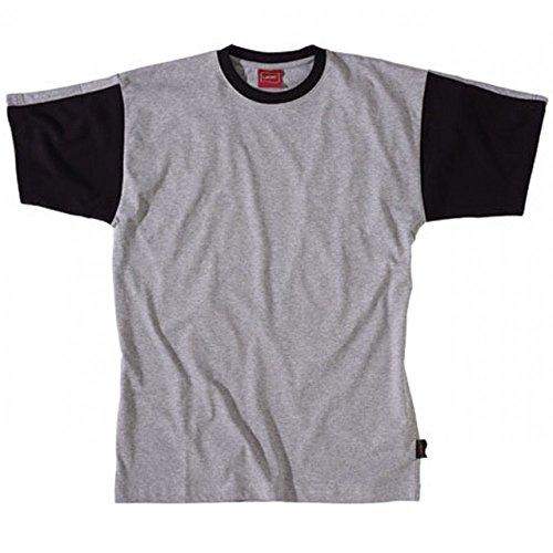 C190att negro Gris Camiseta trabajo Adolphe y Lafont negro Gris de pxwXqwvnY