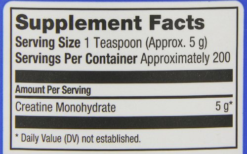 Prolab Creatine Monohydrate Powder (1000g) 2.2 lbs (Pack of 3) by ProLab (Image #2)