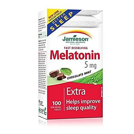 Jamieson Melatonin 5mg Fast Dissolving Tablets