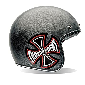 Bell Helmets Street 2015 Custom 500 SE Casco Adulto, color Gris (Indy),