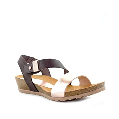 7037f498b Yokono Women s Fashion Sandals Brown Size  4 UK  Amazon.co.uk  Shoes ...