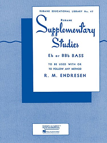 Tuba Bass Brass (Supplementary Studies: Bass/Tuba in C (B.C.) (Brass Method))