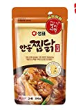 Korean Food Sempio Anton Chicken Chops Seasoning Made of Fermented Hot Pepper Paste, Gochujang with Minced Onions and Other Spicy Seasoning 안동찜닭양념 210g *2ea Gift Party Food