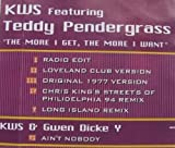 More I Want by Kws & Teddy Pendergrass (1994-12-20)