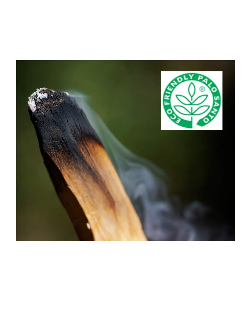 Santo Spirit Palo Santo Holy Wood Incense Smudge Sticks - 20 Pack Free Bonus 3 Palo Santo Incense Cones | 100% Natural | Hand Cut | High Resin | Sustainably Sourced | Clears Negative Energy by Santo Spirit (Image #9)