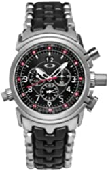Oakley Men's 10-057 12 Gauge Chronograph Stainless Steel Bracelet Edition Watch