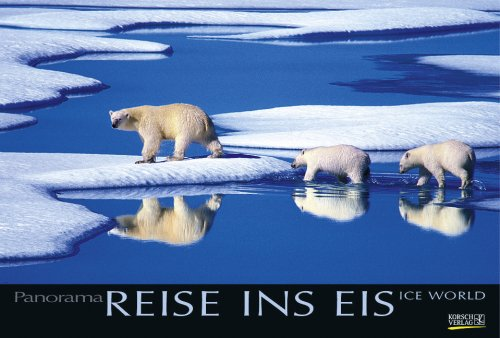 Reise ins Eis 2010: PhotoArt Panorama Kalender