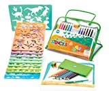 Drawing Stencils Set for Kids - Improve Drawing and Coloring Skills - Educational Toy to Enhance...