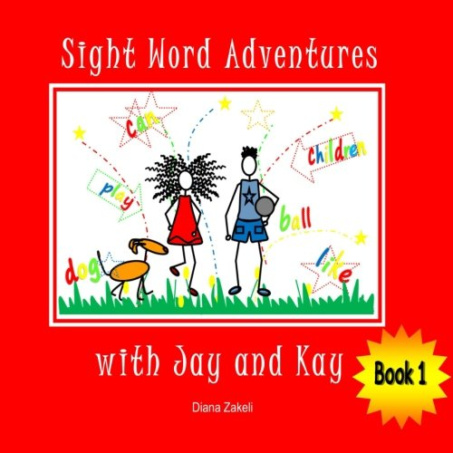 Sight Word Adventures with Jay and Kay Book 1 pdf