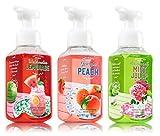 Garden Sweet Foaming Hand Soap Bundle (3 Items) Watermelon Lemonade, Georgia Peach, Savannah Mint Julep