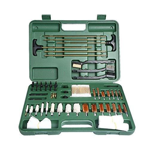 Onvian Gun Cleaning Kit, Universal Caliber Brushes Tips Jags for Hunting Rilfe Handgun Shotguns by Onvian