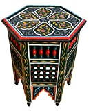 Cheap Moucharabi Painted Wood Table Green