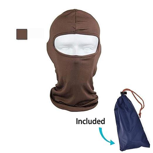 Pasamontañas máscara de protección facial ultra delgada cara ...