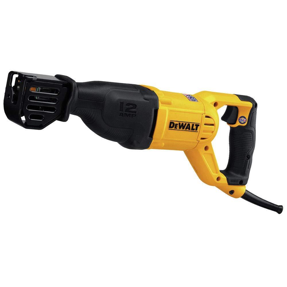 Dewalt 12a Corded Reciprocating Saw (DWE305) - (Certified Refurbished) by DEWALT (Image #2)