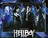 Hellboy POSTER Movie (2004) Style D 11 x 14 Inches - 28cm x 36cm (Ron Perlman)(Doug Jones)(Selma Blair)(John Hurt)(Rupert Evans)(Corey Johnson)(Karel Roden)