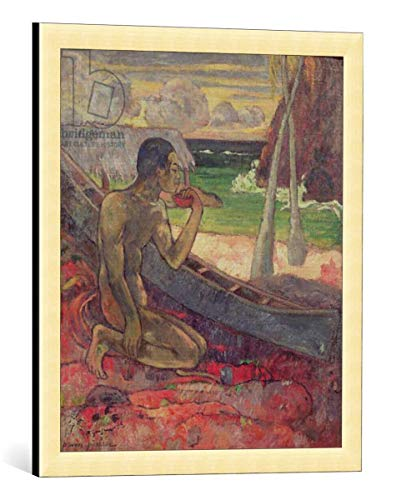 kunst für alle Framed Art Print: Paul Gauguin The Poor Fisherman 1896
