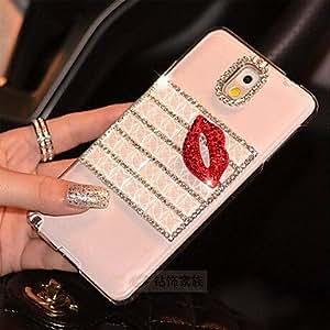 YULIN Teléfono Móvil Samsung - Cobertor Posterior/Carcasa Cubierta de Joyas - Diseño Especial/Transparente - para Samsung S5 i9600 ( Multi-color , TPU )