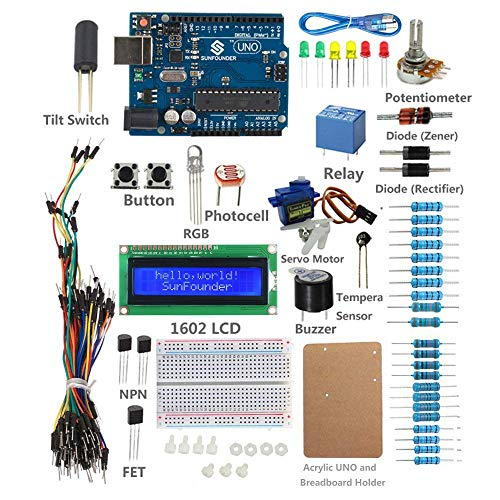 Sunfounder uno r project starter kit with