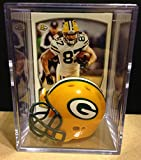 Green Bay Packers NFL Helmet Shadowbox w/ Jordy