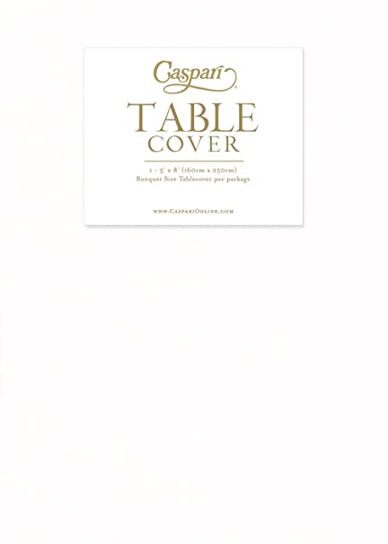 Delicieux Entertaining With Caspari Paper Linen Palette Collection Table Cover, White