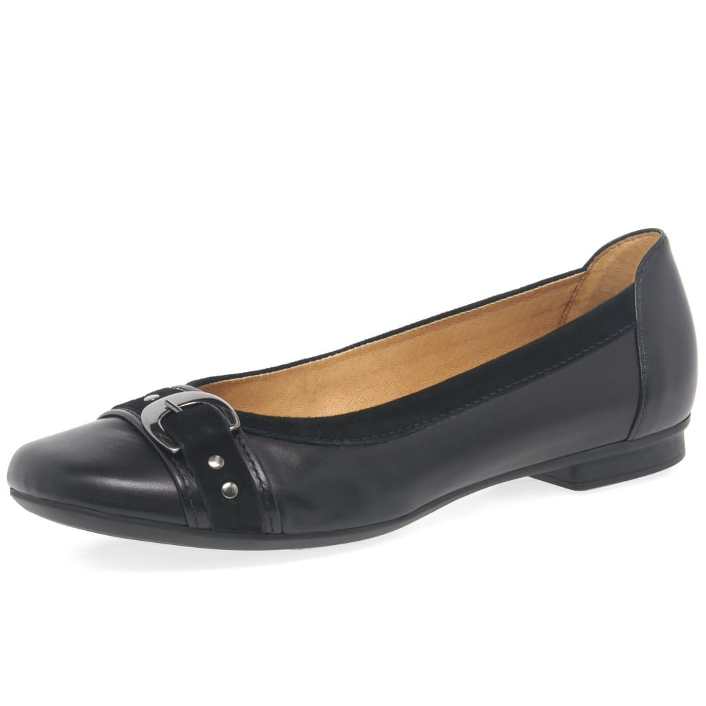 Gabor Indiana Womens Casual Pumps 6 BlackSuede: Amazon.co