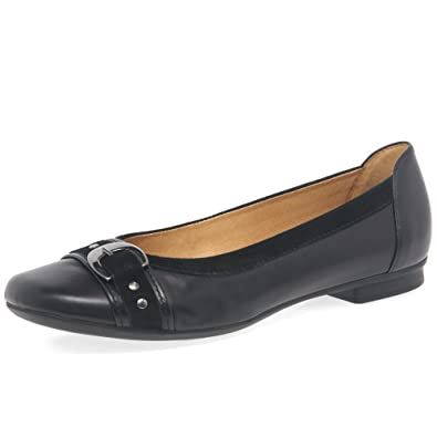 Gabor Indiana Womens Casual Pumps 3 BlackSuede: Amazon.co