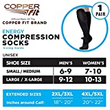 Copper Fit Unisex-Adult's 2.0 Easy-Off Knee High