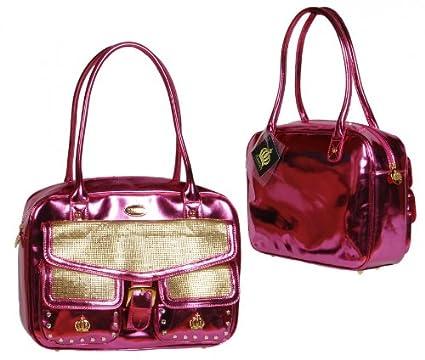 4372e8abd0f67 Harald Glööckler Pompöös Damen Tasche Handtasche Pink