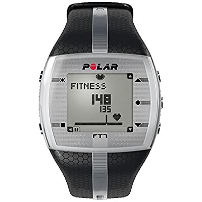 FT7 Heart Rate Monitor - Black/Silver